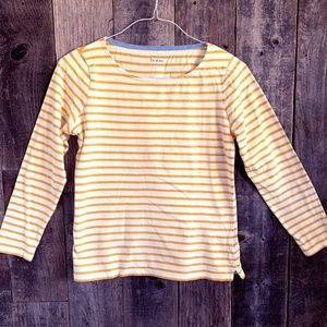 Boden Striped Long Sleeve T-Shirt